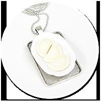 necklace with dumplings no. 4