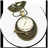 necklace with dumplings