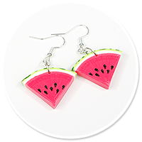 earrings watermelons no. 4