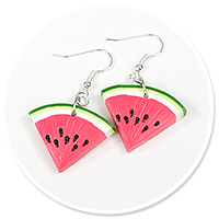 earrings watermelons no. 3