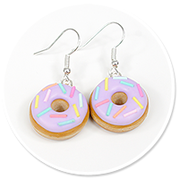 earrings donuts with sprinkles no. 3