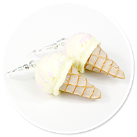 earrings ice cream no. 8