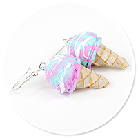 earrings ice cream no. 13