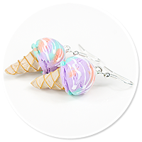 earrings ice cream no. 14