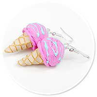 earrings ice cream no. 10
