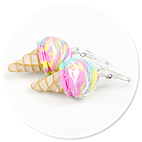earrings ice cream no. 15