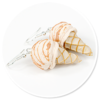 earrings ice cream no. 6