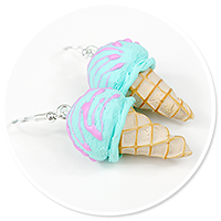 earrings ice cream no. 7