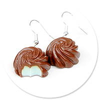 earrings pralines no. 3