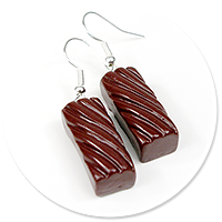 earrings pralines