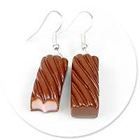earrings pralines no. 8