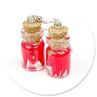 earrings jar with pepper no. 2