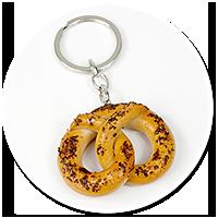 keyring pretzel no. 2