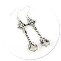 earrings spoons