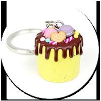breloczek tort nr 5