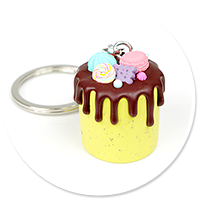 breloczek tort nr 6