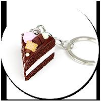 breloczek tort czekoladowy nr 3