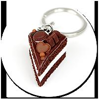 breloczek tort czekoladowy nr 4