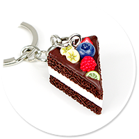 breloczek tort czekoladowy nr 8