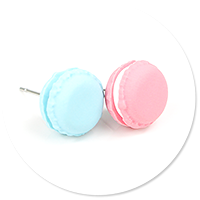 plug-in earrings macaroons no. 5