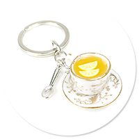 keyring cup of tea