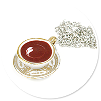 necklace with cup of coffee (big)