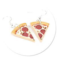 earrings pizza