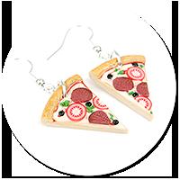 kolczyki pizza nr 2