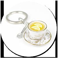 keyring cup of tea