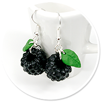 earrings blackberries