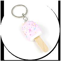 keyring ice cream on a stick no. 3