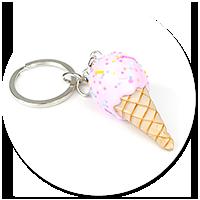 keyring  ice cream no. 12