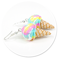 earrings ice cream no. 15
