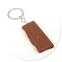 keyring chocolate with nuts no. 4