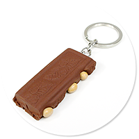 keyring chocolate with nuts no. 2