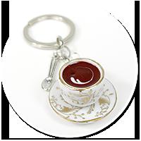 breloczek filiżanka z kawą
