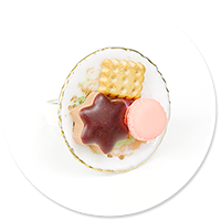 ring plate with sweets no. 2
