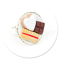 ring plate with sweets no. 3
