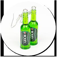 kolczyki butelki piwa nr 8