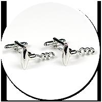 cufflinks corkscrews