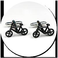 cufflinks for cyclist (bike) no. 2
