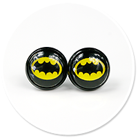 earrings BATMAN