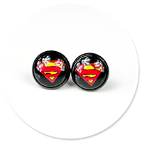 earrings SUPERMAN