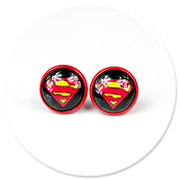 earrings SUPERMAN no. 2