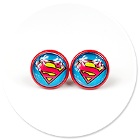 earrings SUPERMAN no. 3