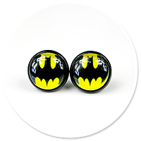 earrings BATMAN no. 2