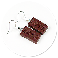 earrings chocolates