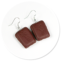 earrings milks no. 3