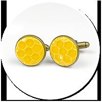 cufflinks honeycombs