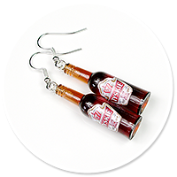 earrings bottles of beer no. 2
